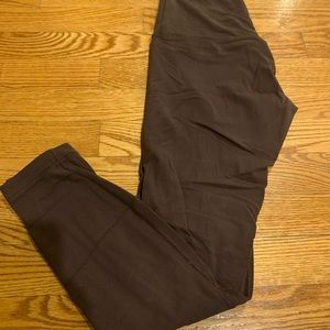 LULULEMON brown align leggings. Worn twice